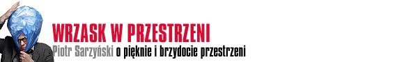 Wrzask w przestrzeni - Piotr Sarzyński o pięknie i brzydocie przestrzeni publicznej